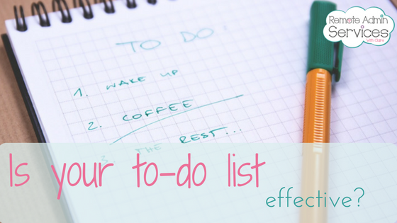 Is your to-do list effective?