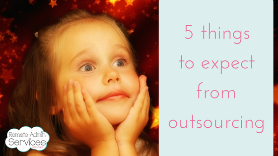 5 things to expect from outsourcing