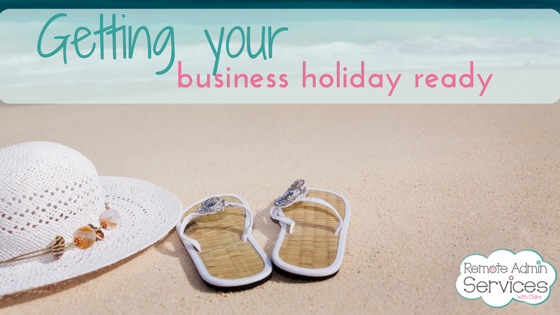 Blog Getting your biz holiday ready