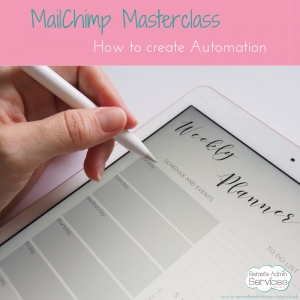 How to create automation in MailChimp